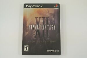 Final Fantasy XII PlayStation 2 Video Game 2006 Collector's Edition SteelBook