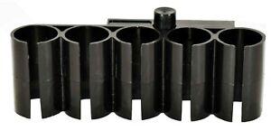 Trinity 12 gauge shotshell carrier shell holder picatinny rail polymer slug blk.