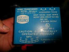 LIFE LIKE TRAINS POWER PACK TRANSFORMER MODEL # 08615