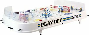 Stiga Eishockey Tischspiel Playoff Hockey Spiel Gesellschaftsspiel weiß B-WARE