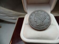 1841 Braided Hair Large Cent Penny  # C 1581