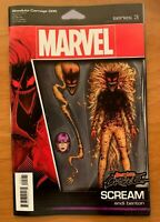ABSOLUTE CARNAGE 5  JT Christopher Action Figure Variant Marvel 2019 NM+