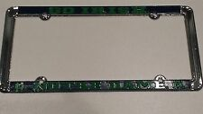 Officially Licensed Notre Dame Fighting Irish Metal License Plate Frame - Green