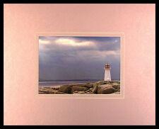 ART WOLFE Lighthouse Nova Scotia poster immagine stampa d'arte nel quadro in alluminio 40x50cm