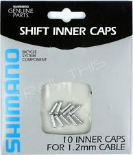 Shimano Shift Inner Caps Bicycle Derailleur Cable End Crimps 1.2mm - Pack of 10