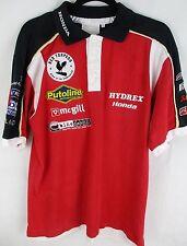Mens Hydrex Honda Official Polo Shirt - Clinton Enterprises - Size Large