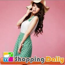 Unbranded Polka Dot Short Sleeve Dresses for Women