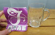 Fenton Glass Boeing Cup Mug 1916 - 1991 75th Anniversary Beautiful