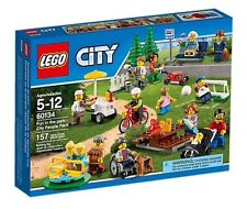 60134 FUN IN THE PARK CITY PEOPLE PACK lego NEW town legos set MINIFIGS mini