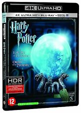 4K ULTRA HD + BLU RAY + DIGITAL UV  HARRY POTTER ET L'ORDRE DU PHENIX NEUF