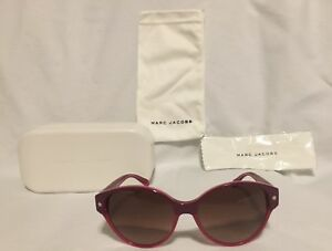 Genuine MARC By Marc Jacobs Womens MMJ 200/S 60H/PB Purple Sunglasses Brand New