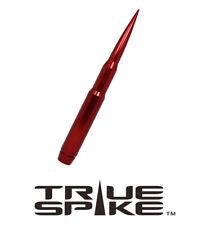"TRUE SPIKE BILLET 9"" FAT BULLET SPIKED ANTENNA RED FOR 94-19 DODGE RAM 2500 3500"