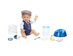 BABY born Interactive Boy Baby Doll Party Theme - Blue Eyes New 2021 Toy Gift