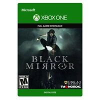 BLACK MIRROR * XBOX ONE DIGITAL GAME DOWNLOAD * USA * FAST, SAME DAY DELIVERY