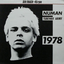 "Gary Numan & Tubeway Army, 1978, NEW/MINT Original UK YELLOW vinyl 12"" single"