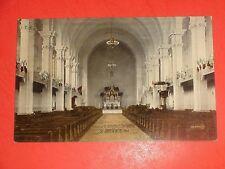 ZA900 Vntage Postcard Interior St.Boniface Cathedral St.Boniface Manitoba Canada