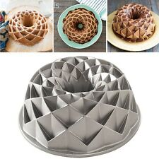 Jubilee Bundt Pan Metallic Bakeware 10 Cup Capacity Cake Baking Form Bake Pan