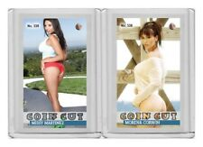 Morena Corwin rare MH Coin Cut #'d 2/3 Tobacco Style card no. 538