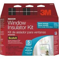 3M 2141W-6 Indoor Window Insulator Kit - 5 Pack