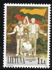LITHUANIA MNH 1999 10th Anniversary of the Baltic Chain