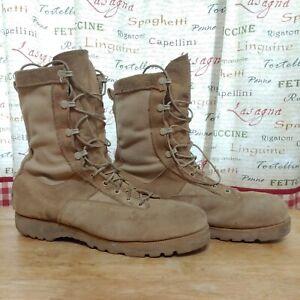 Belleville Men's Military Tan Desert Boots Size 12 W Vibram 03-D-0322  USA made