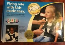 CARES Kids Fly Safe Airplane Safety Harness Seatbelt w/ Carry Bag