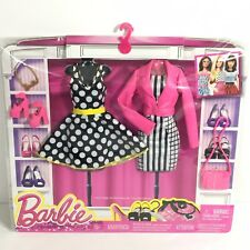 Barbie Fashion 2-Pack Fifties Pin Up 2015 Clothes Set Accessories Fashionista