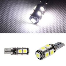 1x Ampoule T10 W5W W3W 9 LED SMD CanBus Anti erreur Blanc White veilleuse 12V