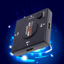 Hotsale 3 Port HDMI Switcher 1080P Video Splitter Amplifier Remote 3 In 1 Out