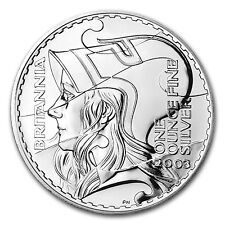 2003 1 oz Silver Britannia