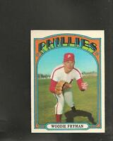 1972 Topps # 357 Woodie Fryman Ex-Mt
