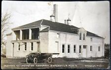 SWANVILLE MN ~ 1900's FARMERS CO-OPERATIVE CREAMERY ~ RYDHOLM Real Photo PC RPPC