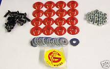 GMAN Body Mounting Kit Red Go Kart Racing