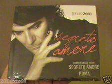 cd renato zero renatozero segreto amore roma sigillato cds cd's compact disc new
