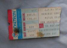 1980 Peter Frampton Concert Ticket Stub JFK STADIUM  Pa