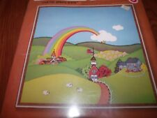 """Vintage Sunset QUILTED SPRING SCENE Sewing/quilting Kit 16"""" x 16"""""""