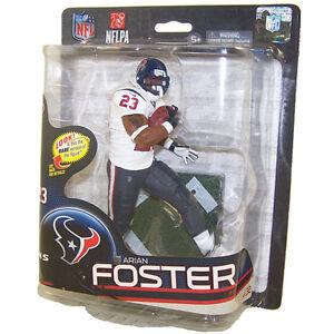Arian Foster Houston Texans McFarlane Action Figure NIB NFL Series 32