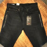 Levi's 512 Jeans Slim Taper Stretch Premium Black 288330470 Mens 34x34