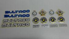 BULTACO METRALLA, SATURNO, SENIOR VINYL STICKERS (BOX20)