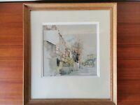 Charlotte Halliday Original Watercolour - Pen and Gouache Painting - Woronzow Rd