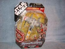 X-wing Fighter Luke Skywalker Star Wars Transformers 30th Hasbro New Sealed 2007