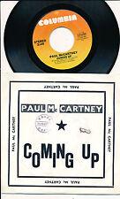 "PAUL MACCARTNEY 45 TOURS 7"" USA COMING UP"