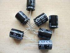 Electrolytic capacitor 22uf 450V  105C size 15 x 20 10 per order     Z336