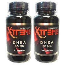 DHEA 50mg 50caps (2 PACK) Libido Boost Anti Aging Puritan's Pride quality 50 mg
