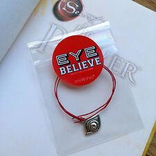 The Secret Lucky Evil Eye Kabbalah Karma Red String Wish Bracelet tinyWishes