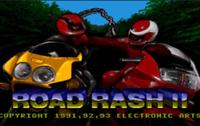 Road Rash II 16 bit MD Game Card For Sega Mega  Cartridge Genesis Complete 1992