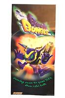 Buck Bumble Nintendo Power Promo Poster Nintendo 64 Retro Rare 10,5x22''