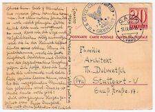 SCHWEIZ GZSK 1946 US Civil Censorship * Palast Hotel Caux sur Montreux / Politik