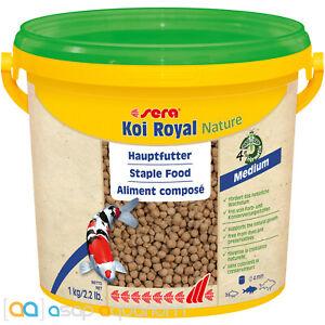 sera Koi Royal Nature Medium 3800mL 4mm Natural Koi Fish Food Pellets