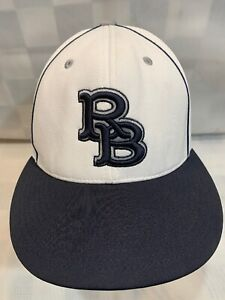 RB Letters Logo Fitted S-M Adult Baseball Ball Cap Hat